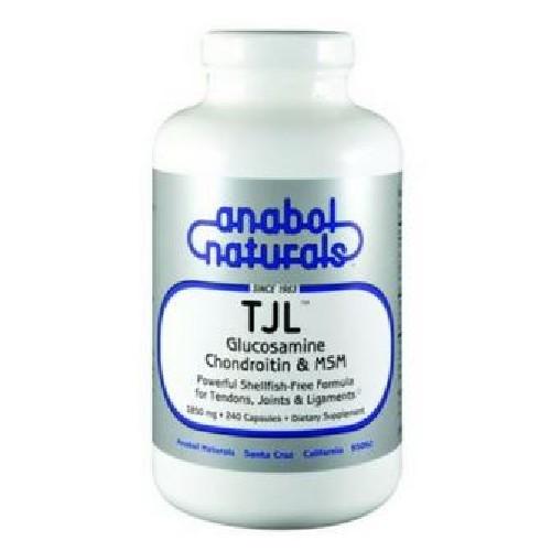 Anabol Naturals - TJL Glucosamine / Chondroitin / MSM Shellfish Free 30 Caps by Anabol Naturals