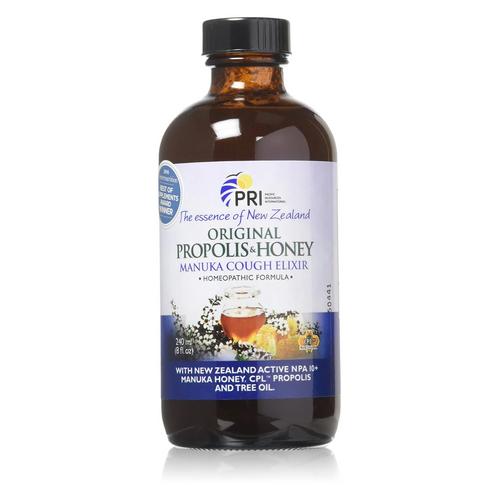 Pacific Resources - Propolis & Honey Cough Elixir 8 Oz by Pacific Resources
