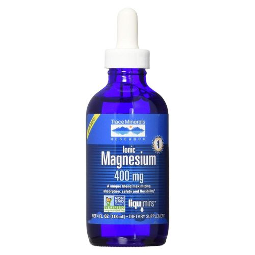 Trace Minerals - Liquid Ionic Magnesium 4 Oz by Trace Minerals