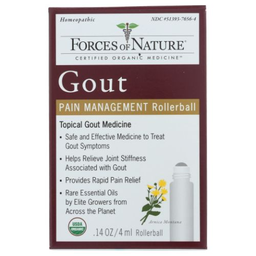 Forces of Nature - Gout Pain Management 4 ml by Forces of Nature