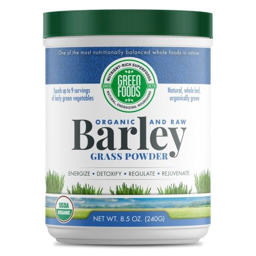 Green Foods Corporation - Organic Barley Grass Powder 8.5 Oz by Green Foods Corporation