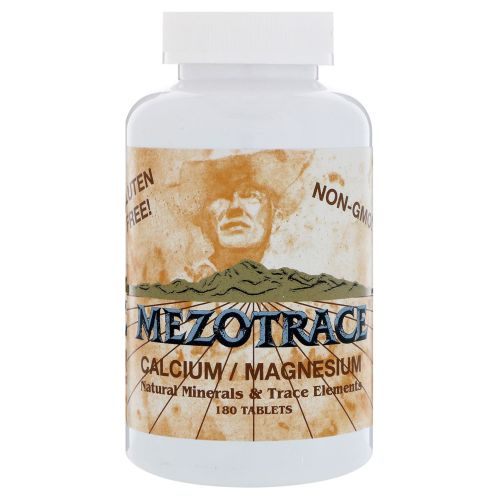 Mezotrace - Minerals & Trace Elements 180 Tabss by Mezotrace