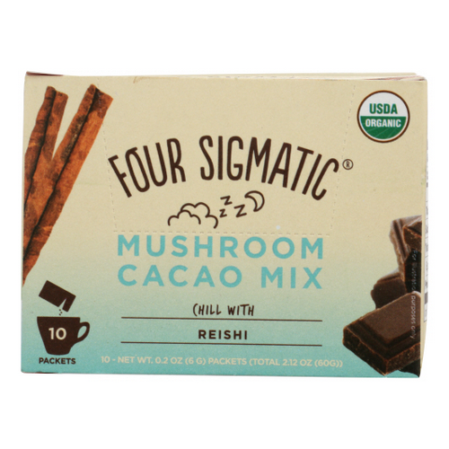 Four Sigmatic - Cacao Hot Reishi Mushroom 2.16 Oz by Four Sigmatic