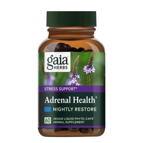 Gaia Herbs - Adrenal Health Nightly Restore 120 Caps by Gaia Herbs