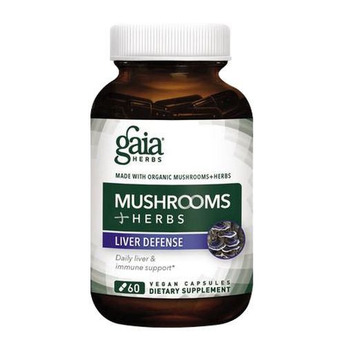Gaia Herbs - Mushrooms+Herbs Liver Defense 60 Caps by Gaia Herbs