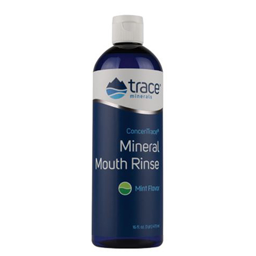 Trace Minerals - Mineral Mouth Rinse 0.5 oz by Trace Minerals