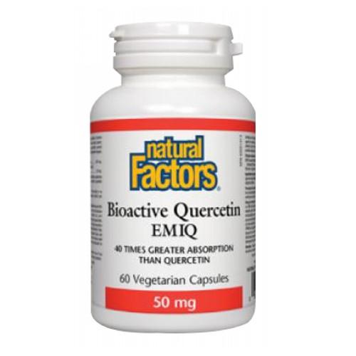 Natural Factors - Bioactive Querectin EMIQ 60 Veg Caps by Natural Factors