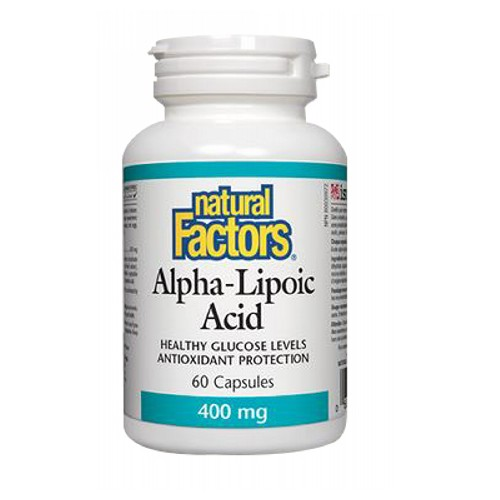 Natural Factors - Alpha-Lipoic Acid 60 Caps by Natural Factors