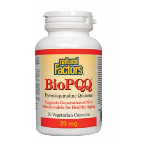 Natural Factors - BioPQQ 30 Veg Caps by Natural Factors