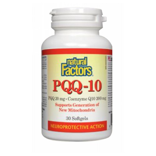 Natural Factors - PQQ-10 60 Softgels by Natural Factors