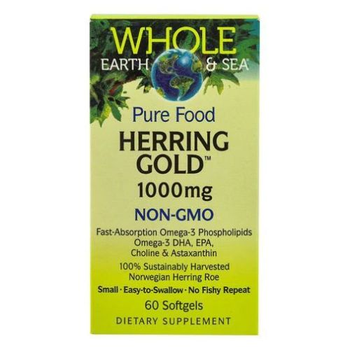 Natural Factors - Whole Earth & Sea Herring Gold Omega-3 60 Softgels by Natural Factors