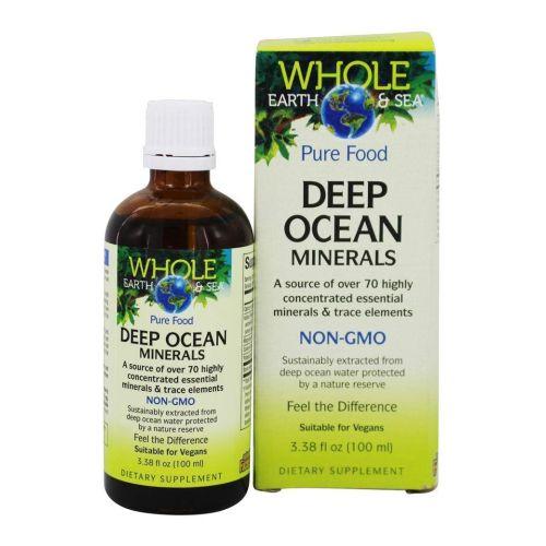 Natural Factors - Whole Earth & Sea Deep Ocean Minerals 3.4 Oz by Natural Factors
