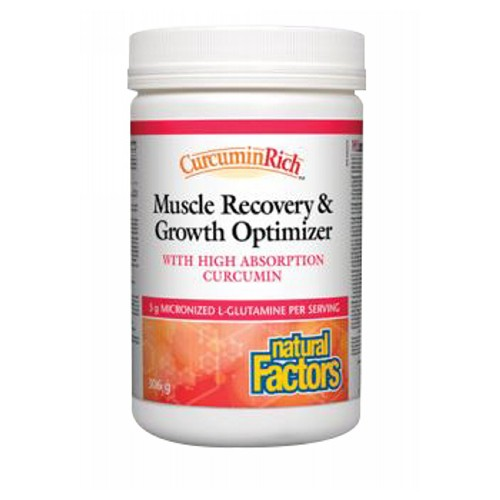 Natural Factors - CurcuminRich Muscle Recovery & Growth Curcumizer 10.8 Oz by Natural Factors