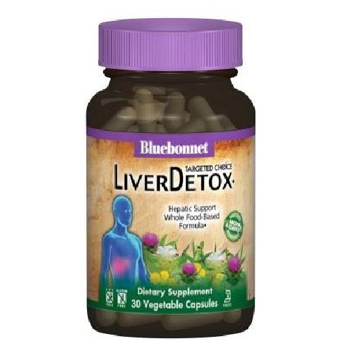 Bluebonnet Nutrition - Liver Detox 30 Veg Caps by Bluebonnet Nutrition
