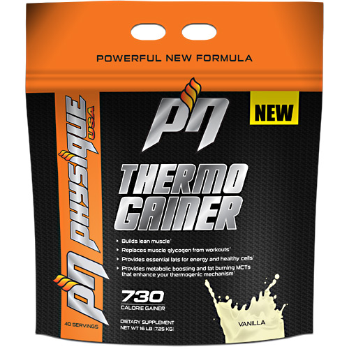 Thermo Gainer Vanilla 6 lbs by Physique Nutrition Thermo Gainer Vanilla 6 lbs by Physique Nutrition