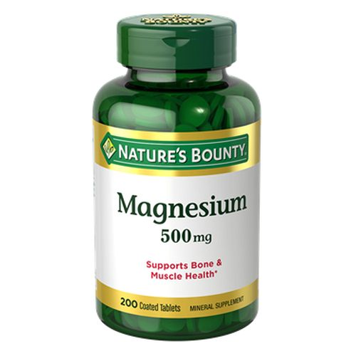 Nature's Bounty - Magnesium 24 X 200 Coated Tabs by Nature's Bounty