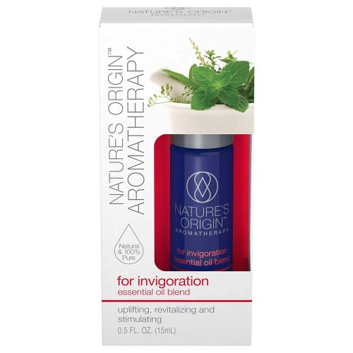 Aromatherapy for Invigoration Essential Oil Blend Roll-On Roll-On 24 X 15 ml by Nature's Origin