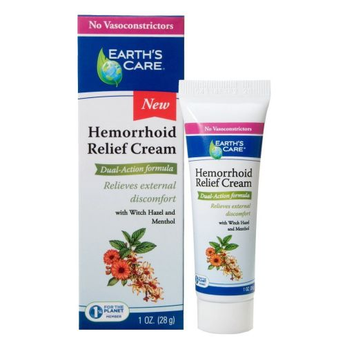Earth's Care - Hemorrhoid Relief Cream 1 Oz by Earth's Care