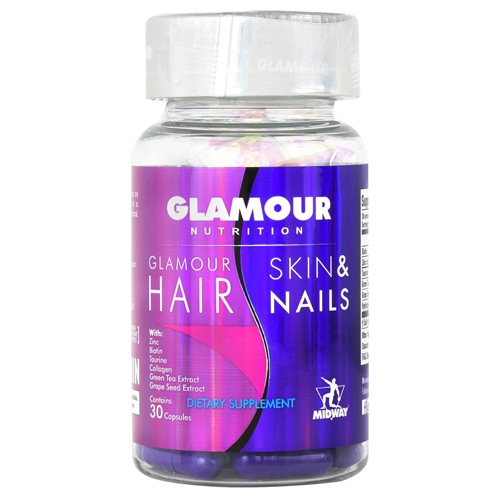 Midway Labs - FDM Glamour Hair-Skin & Nails 30 Servings by Midway Labs