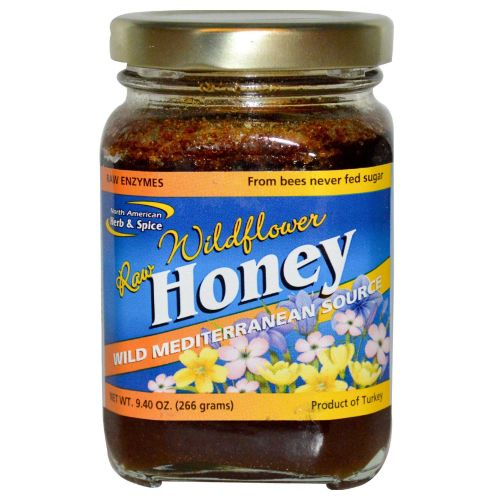 North American Herb & Spice - Mediterranean Wild Flower Honey 9.4 Oz by North American Herb & Spice