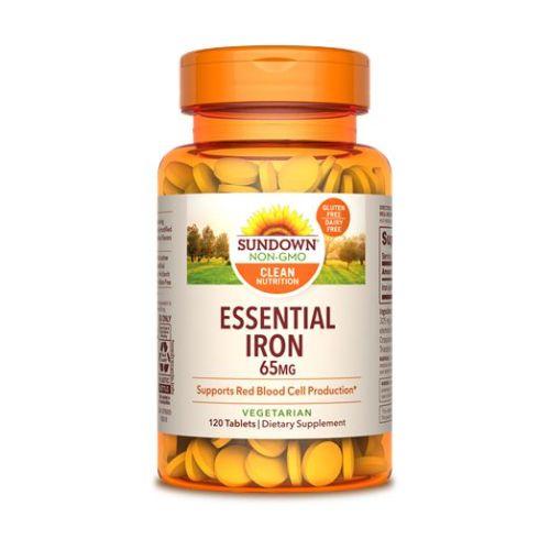 Sundown Naturals - Sundown Naturals Iron 12 X 120 Tabs by Sundown Naturals