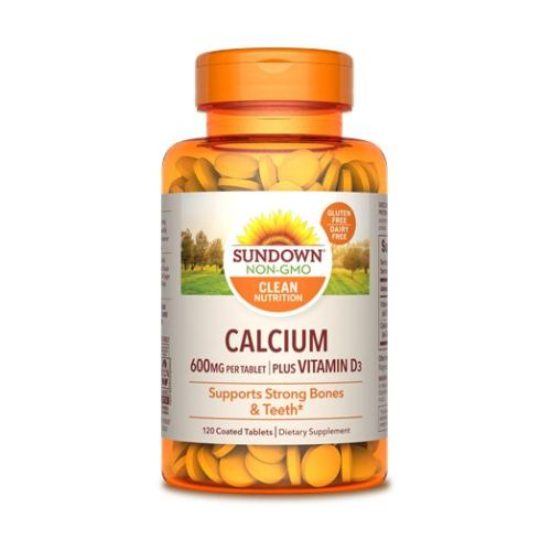 Sundown Naturals - Calcium & Vitamin D3 12 X 120 Tabs by Sundown Naturals
