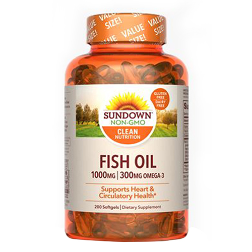 Sundown Naturals - Sundown Naturals Fish Oil 12 X 200 Softgels by Sundown Naturals