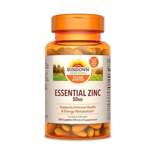 Sundown Naturals - Sundown Naturals Zinc Gluconate 12 X 100 Caplets by Sundown Naturals