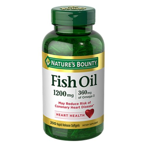 Nature's Bounty - Omega-3 Fish Oil 12 X 200 Softgels by Nature's Bounty