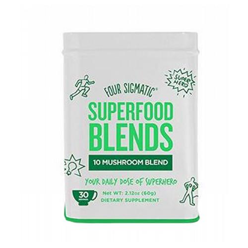Four Sigma Foods Inc - 10 Mushroom Blend 2.12 Oz by Four Sigma Foods Inc