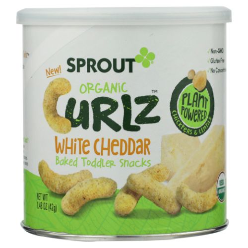 Sprout - Organic Baby Food White Cheddar 3.5 Oz by Sprout