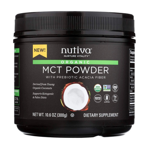 Nutiva - MCT Powder 10.6 Oz by Nutiva