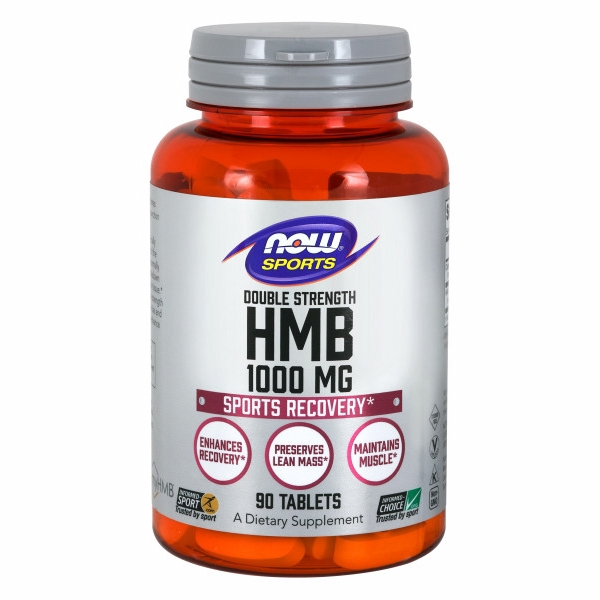 HMB Double Strength 90 Tabs by Now Foods