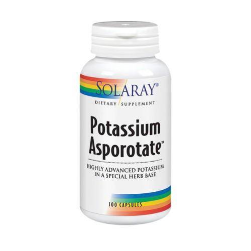 Potassium Asporotate 100 Caps by Solaray