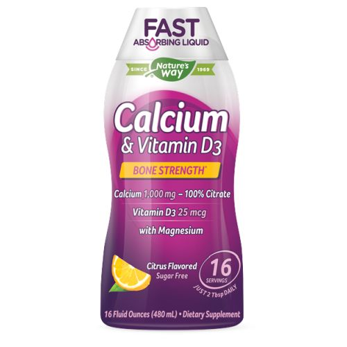 Nature's Way - Calcium & Vitamin D3 16 Oz by Nature's Way
