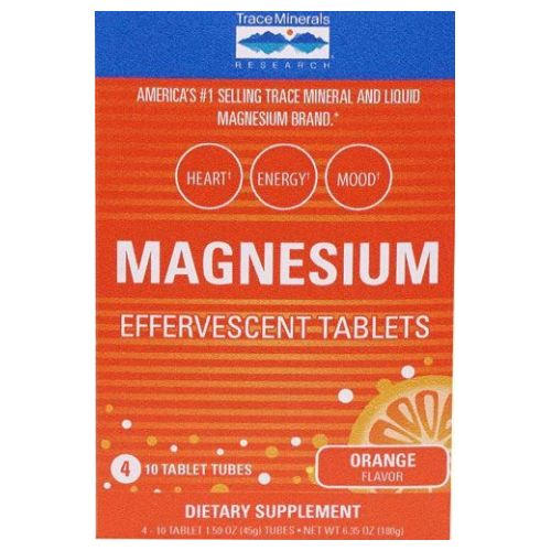 Trace Minerals - Magnesium Efferscent 4 Tubes by Trace Minerals