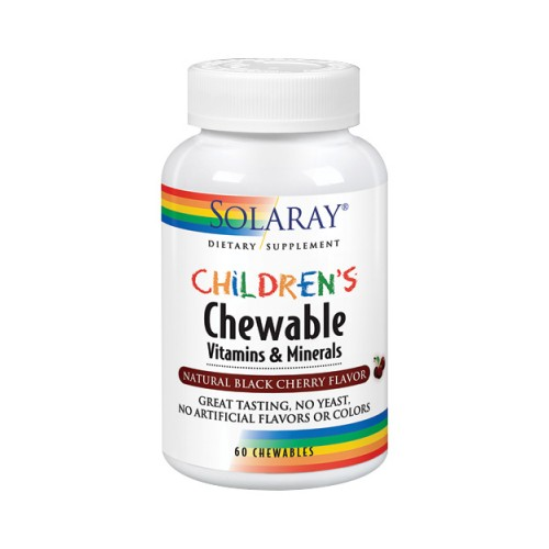 Children's Chewable 60 Chews by Solaray