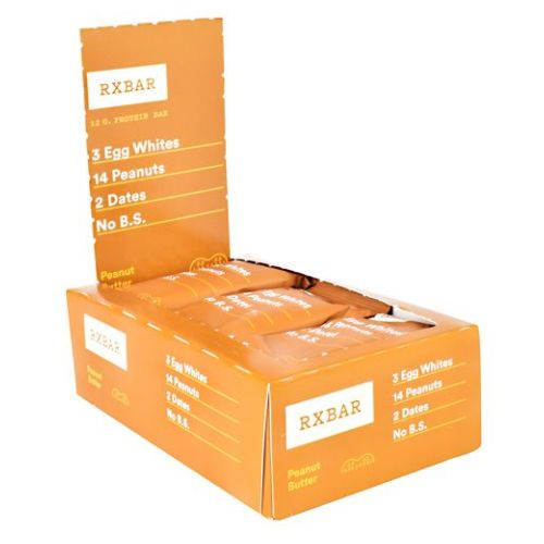 Protein Bar Peanut Butter 12 Bars by Rx Bar