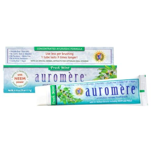 Auromere - Ayurvedic Herbal Toothpaste Freshmint 4.16 Fl Oz by Auromere