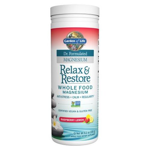 Dr. Formulated Relax & Restore Raspberry Lemon 8.1 Oz by Garden of Life