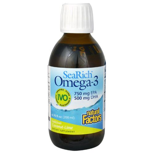 Natural Factors - SeaRich Omega-3 Coconut Lime 6.8 Oz by Natural Factors