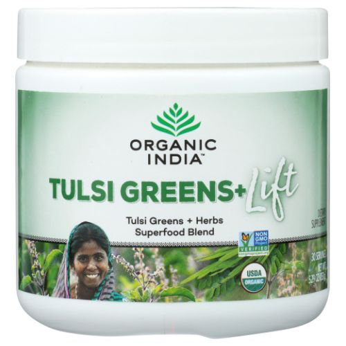 Organic India - Organic Support Tulsi Greens 15 Count by Organic India