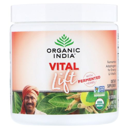 Organic India - Organic Support Vita Lift 15 Count by Organic India
