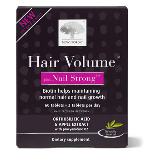 New Nordic US Inc - Hair Volume Plus Nail Strong 60 Count by New Nordic US Inc