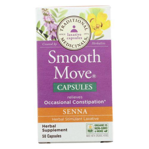 Traditional Medicinals Teas - Smooth Move Senna 50 Caps by Traditional Medicinals Teas
