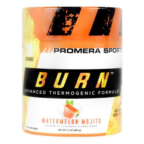 Burn Thermo Watermelon Mojito 30 Servings by Con-Cret Advanced Thermogenic Formula. Natural Pepper Fruit Extract. Burn Fat And Get Lean. Naturally. Burn Is A Unique Thermogenic Supplement Scientifically Formulated To Promote Increased Metabolism And Control Appetite. Burn Is a Breakthrough Nutritional Support Formula to Optimize Your Body's Metabolism. L-Carnitine HCI Transports Fat Into The Mitochondria When It Works In Concert With Other Metabolism Promoters, Specifically PurTea (Organic Green Tea Extract), PurCaf (Organic Green Coffee Bean Caffeine), And Capsimax. Capsimax Is A Natural Fat Burning Aid, Which Helps To Deliver The Maximum Benefits From Capsaicin. They All Work Together To Create an Advanced Thermogenic Formula. The Essential Ingredient Of Burn Is Derived From Red Chili Peppers. It Is A Highly Concentrated Natural Extract Known As Capsaiciniods.Dietary SupplementNaturally Flavored & SweetenedAdvanced Thermogenic Formula