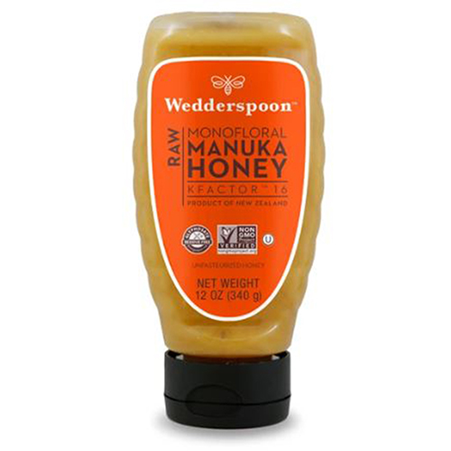 Wedderspoon Organic - Raw Manuka Honey Kfactor 16 12 Oz by Wedderspoon Organic