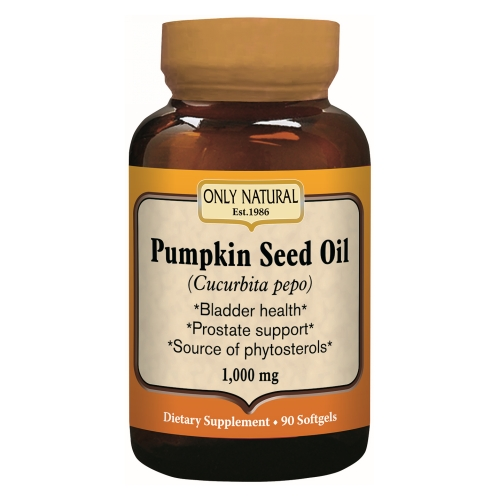 Only Natural - Pumpkin Seed Oil 90 Softgels by Only Natural