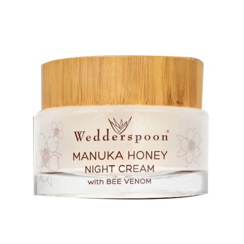 Wedderspoon Organic - Manuka Honey Night Cream with Bee Venom 1.7 Oz by Wedderspoon Organic
