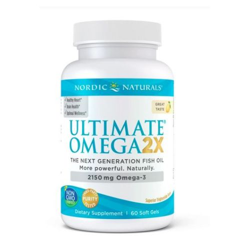Nordic Naturals - Ultimate Omega 2X D3 60 Count by Nordic Naturals